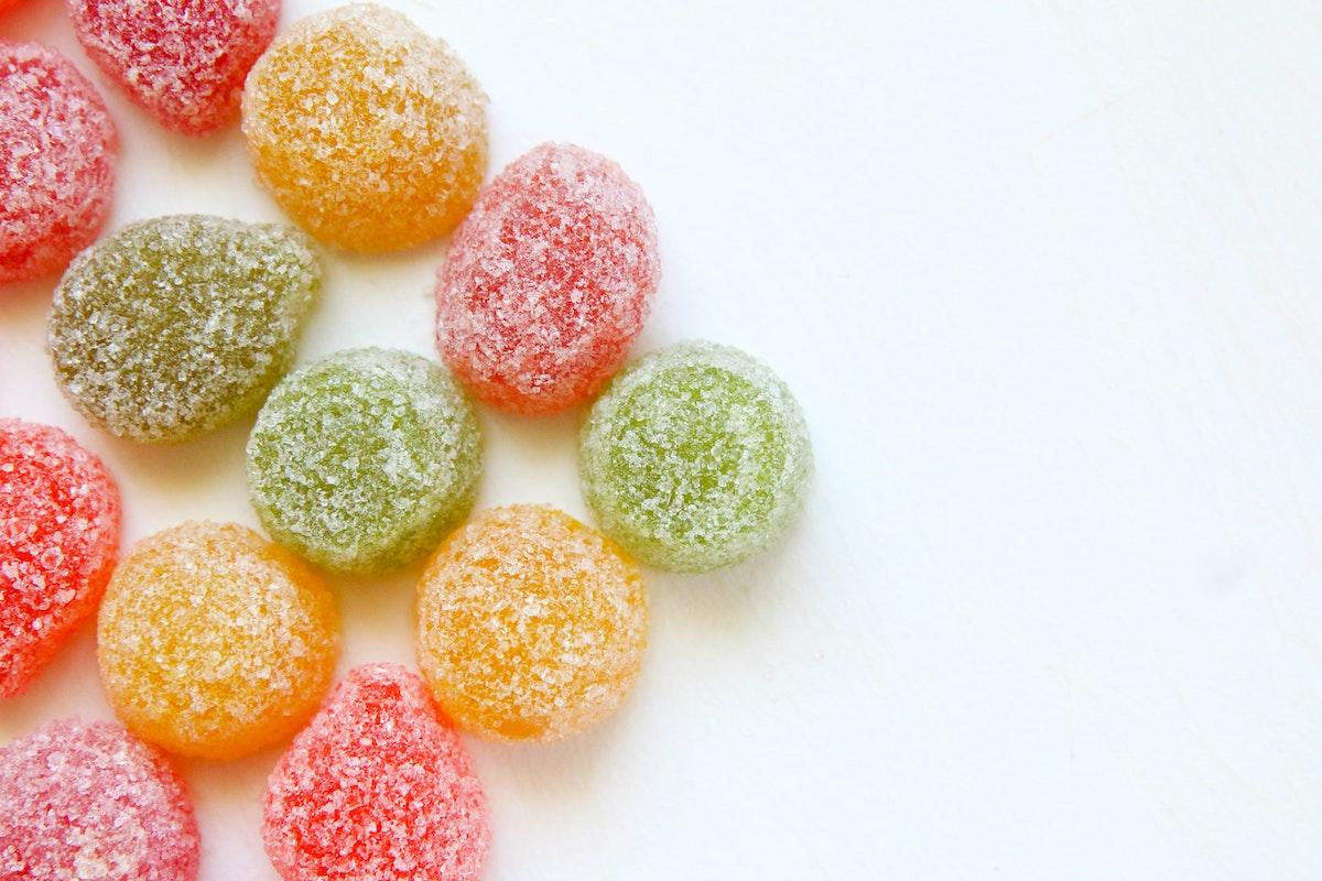 sugar jelly candies
